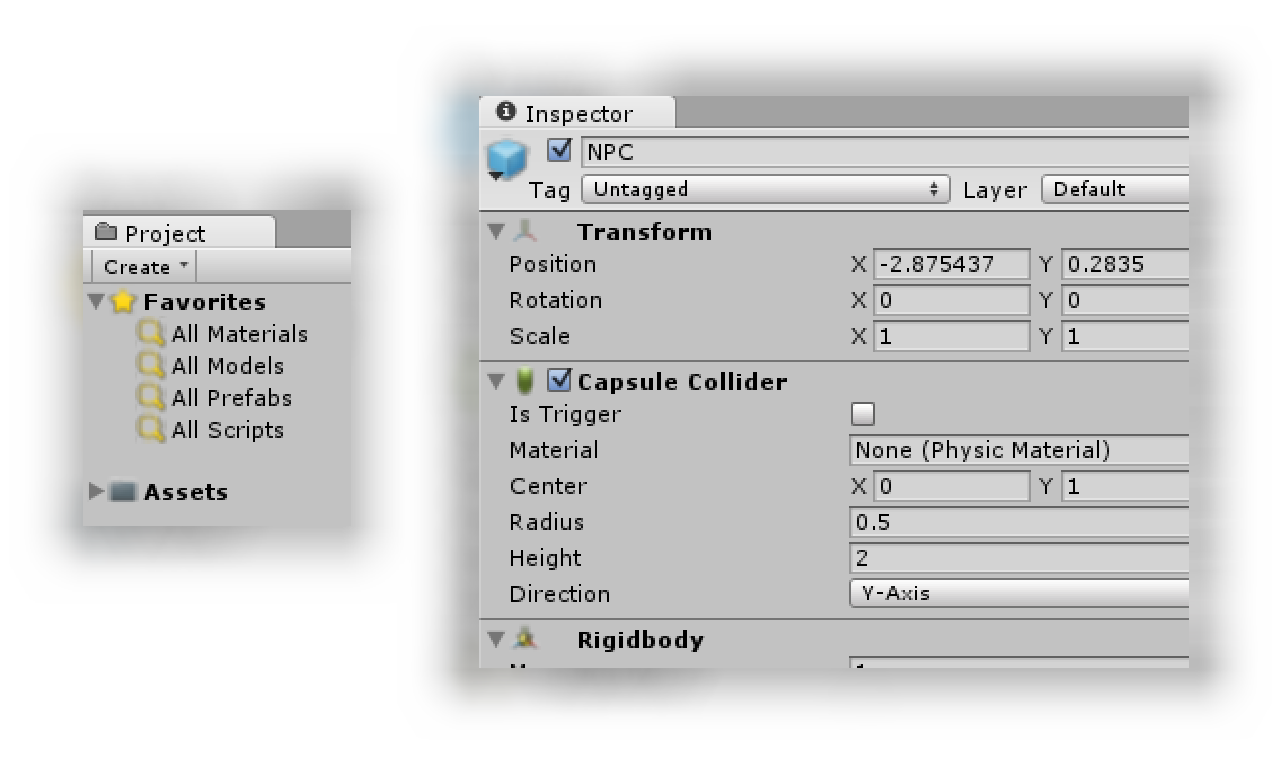 Example of blurry or fuzzy Unity editor icons